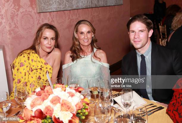 Julia Koch Jolene Wilson and Frank DiLella attend the Launch of the Paris Opera 350th Anniversary in New York with the American Friends of the Paris...