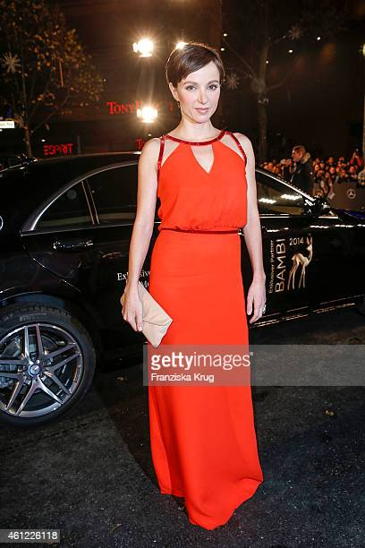 Julia Koschitz arrives at the Bambi Awards 2014 on November 13 2014 in Berlin Germany