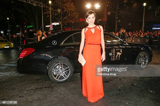 Julia Koschitz arrives at the Bambi Awards 2014 on November 13 2014 in Berlin Germany