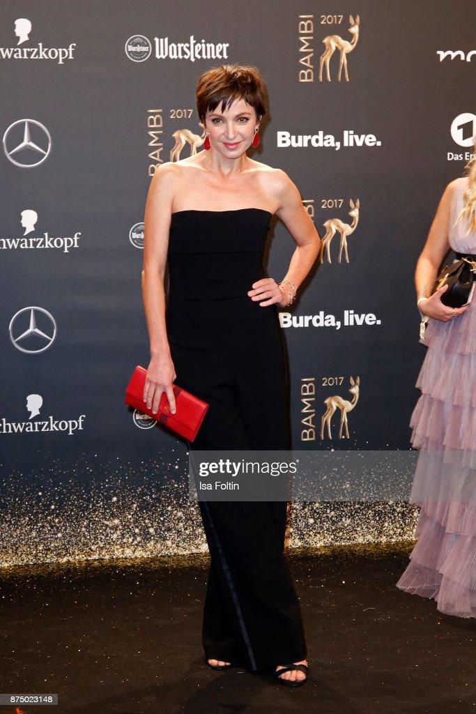 Kryolan At Bambi Awards 2017 - Red Carpet Arrivals : Nachrichtenfoto