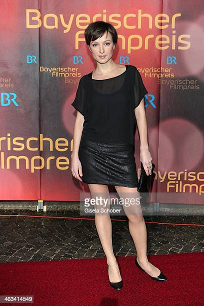 Julia Koschitz attends the Bavarian Film Award 2014 at Prinzregententheater on January 17 2014 in Munich Germany