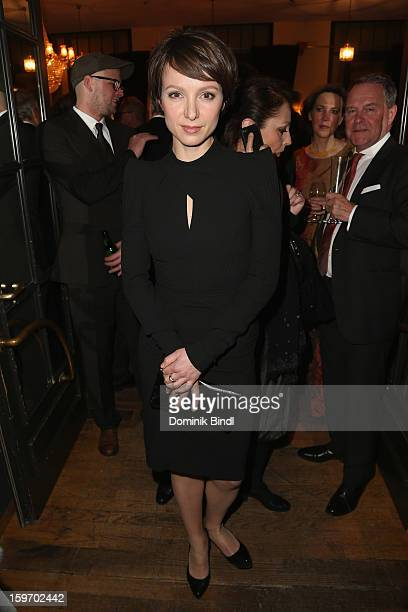 Julia Koschitz attends the Bavarian Movie Awards 2013 after party on January 18 2013 in Munich Germany