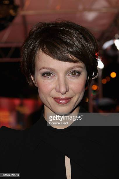 Julia Koschitz attends the Bavarian Movie Awards 2013 on January 18 2013 in Munich Germany