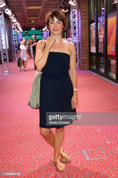 Julia Koschitz attends the Bernd Burgemeister Fernsehpreis 2019 during the film festival at Gasteig on June 30 2019 in Munich Germany