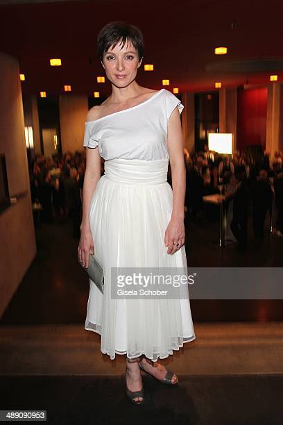 Julia Koschitz attends the Lola - German Film Award 2014 - After party at Tempodrom on May 9, 2014 in Berlin, Germany