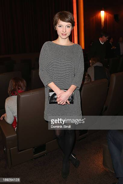 Julia Koschitz attends the reopening party of the Gloria Palace cinema on January 10, 2013 in Munich, Germany.