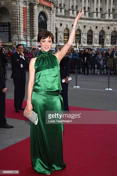 Julia Koschitz attends the Romy Award 2014 at Hofburg Vienna on April 26 2014 in Vienna Austria