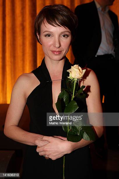 Julia Koschitz attends the 'Ruhm' Germany Film Premiere at 'Residenz eine astor Film Lounge' on March 20 2012 in Cologne Germany