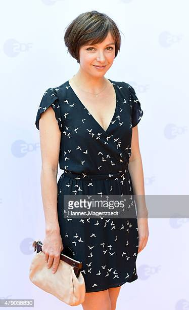 Julia Koschitz attends the ZDF reception during the Munich Film Festival at Hugo's on June 30 2015 in Munich Germany