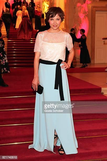 Julia Koschitz during the 27th ROMY Award 2015 at Hofburg Vienna on April 16 2016 in Vienna Austria