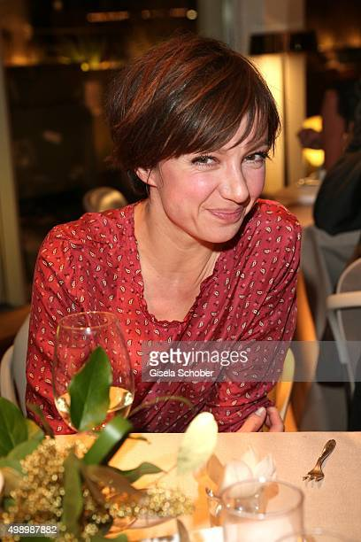 Julia Koschitz during the ARD advent dinner hosted by the program director of the tv station Erstes Deutsches Fernsehen at Hotel Bayerischer Hof on...