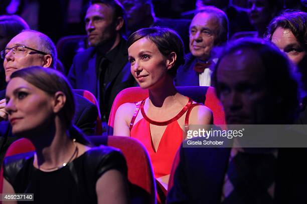 Julia Koschitz during the Bambi Awards 2014 show on November 13, 2014 in Berlin, Germany.