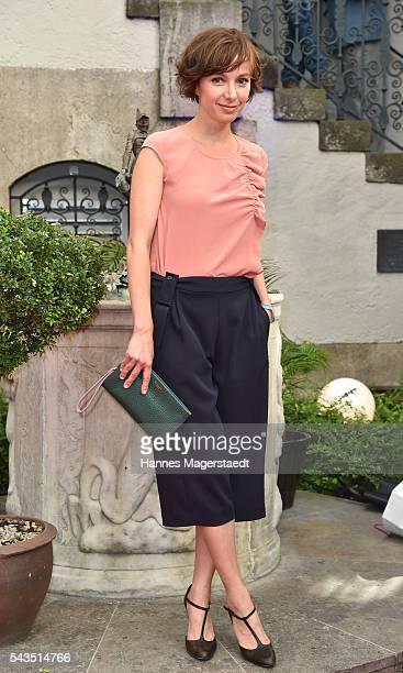 Julia Koschitz during the Bavaria Film reception during the Munich Film Festival 2016 at Kuenstlerhaus am Lenbachplatz on June 28 2016 in Munich...