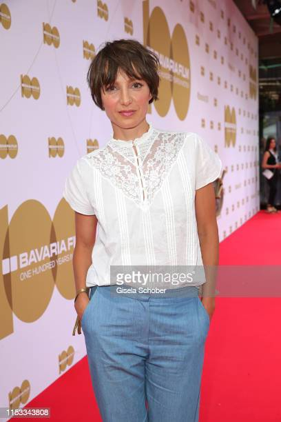 Julia Koschitz during the Bavaria Film Reception One Hundred Years in Motion on the occasion of the 100th anniversary of the Bavaria Film Studios and...