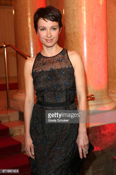 Julia Koschitz during the ROMY award at Hofburg Vienna on April 22 2017 in Vienna Austria