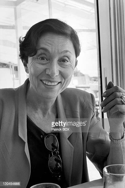 Julia Kristeve in Cassis, France in May, 1997.