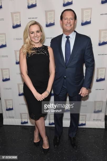 Julia La Roche and Mark Axelowitz attend Bob Roth's Strength In Stillness The Power of Transcendental Meditation book launch party at Joe's Pub on...