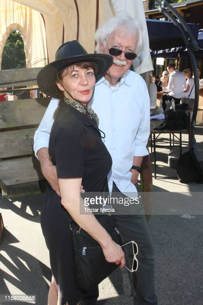 Julia Laubrunn and Carlo von Tiedemann during the premiere of the Karl May Festival on June 29, 2019 in Bad Segeberg, Germany.