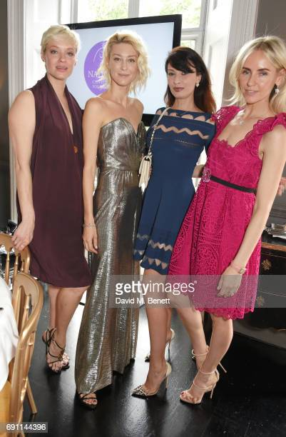 Julia Laza, Anastassia Khozissova, Alessandra Vicedomini and Nadya Abela attend a Charity Luncheon in support of the Nadezda Foundation hosted by...