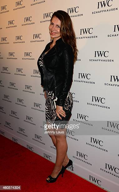 Julia Lemigova attends IWC Schaffhausen And DuJour Magazine's Jason Binn Celebrate Timeless Portofino During Art Basel Miami Beach at The W Hotel...