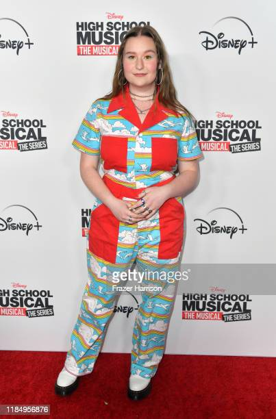 """Julia Lester attends the Premiere Of Disney+'s """"High School Musical: The Musical: The Series"""" at Walt Disney Studio Lot on November 01, 2019 in..."""