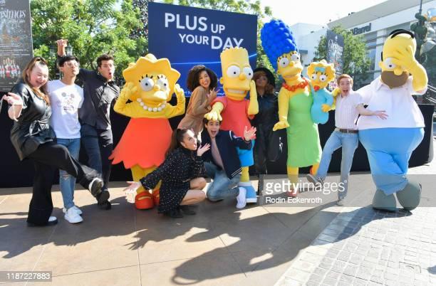 Julia Lester, Frank Rodriguez, Matt Cornett, Lisa Simpson, Olivia Rodrigo, Sofia Wylie, Joshua Bassett, Bart Simpson, Dara Renee, Marge Simpson,...