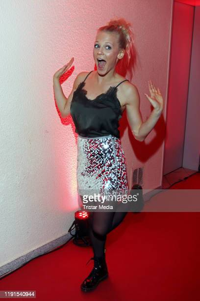 Julia Lindholm during the ARD TV show Das Adventsfest der 100000 Lichter on November 30 2019 in Suhl Germany