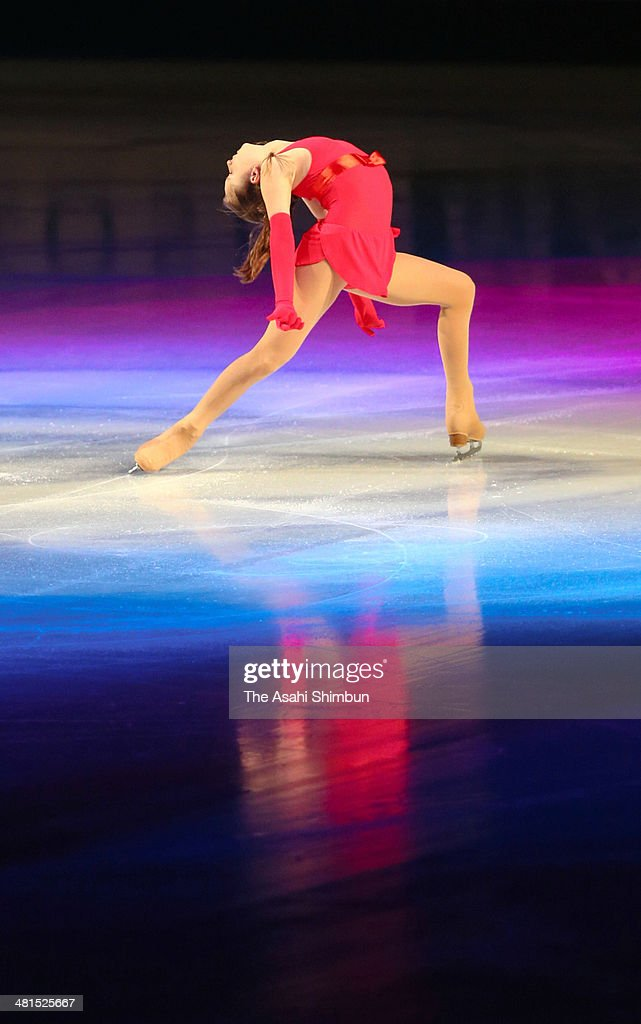 Julia Lipnitskaia of Russia performs during the gala exhibition of the ISU World Figure Skating Championships at Saitama Super Arena on March 30, 2014 in Saitama, Japan.