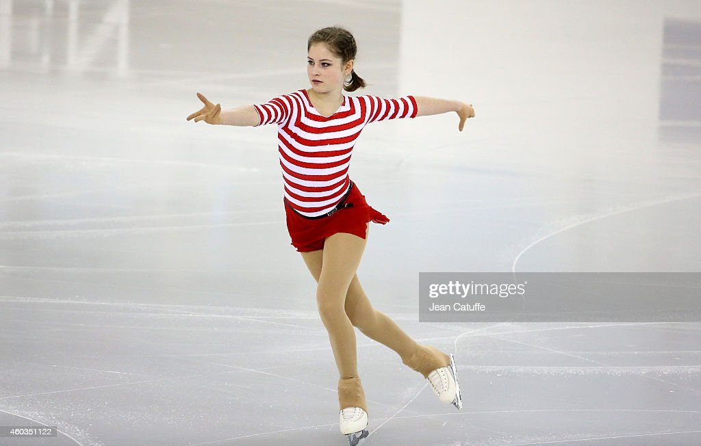 Julia Lipnitskaia of Russia performs during the Ladies Short Program Final on day one of the ISU Grand Prix of Figure Skating Final 2014/2015 at Barcelona International Convention Centre on December 11, 2014 in Barcelona, Spain.