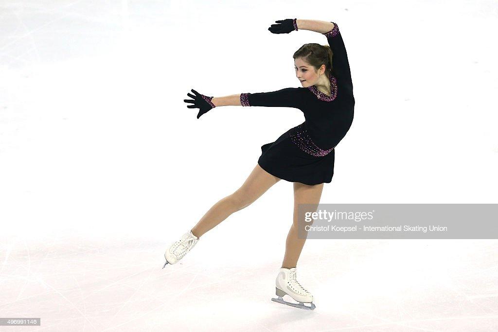 Trophee Eric Bompard ISU Grand Prix of Figure Skating  - Day 1 : News Photo