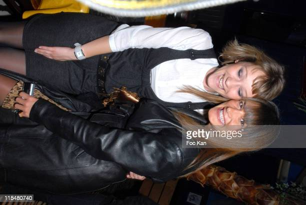 Julia Livage and Marion Dumas during Breaking and Entering Paris Screening at Planete Holltwood in Paris France