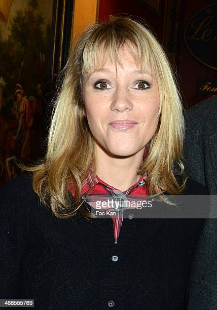 Julia Livage attends the 'Journee Du Livre Et Du Vin' 2014 Jury Press Conference At the Procope Restaurant on February 10 2014 in Paris France