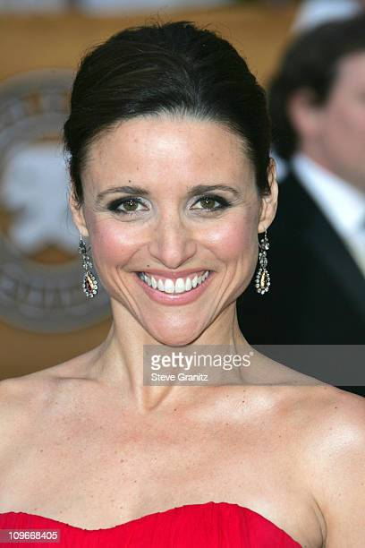 Julia LouisDreyfus 12864_SG_2380JPG during TNT/TBS Broadcasts 13th Annual Screen Actors Guild Awards Arrivals at Shrine Auditorium in Los Angeles...