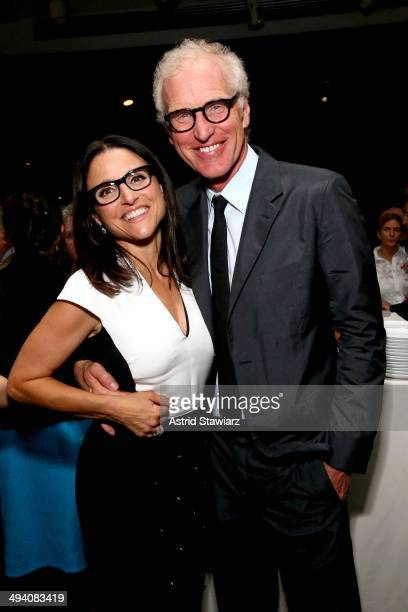 Julia LouisDreyfus and Brad Hall attend the TC Philanthropy Summit with screening of 'Generosity Of Eye' at Lincoln Center with Town Country on May...