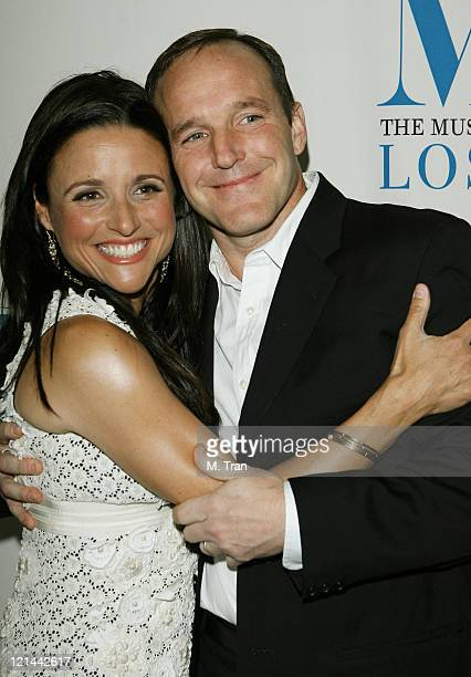 Julia LouisDreyfus and Clark Gregg during The Museum of Television Radio Presents New Adventures of Old Christine Arrivals at Museum of Television...