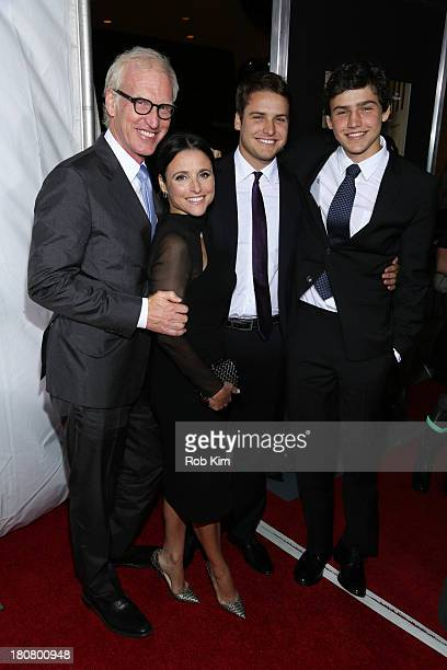 Julia LouisDreyfus and family attend Enough Said New York Screening at Paris Theater on September 16 2013 in New York City