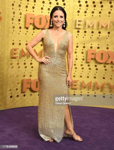 Julia Louis-Dreyfus arrives at the 71st Emmy Awards at Microsoft Theater on September 22, 2019 in Los Angeles, California.