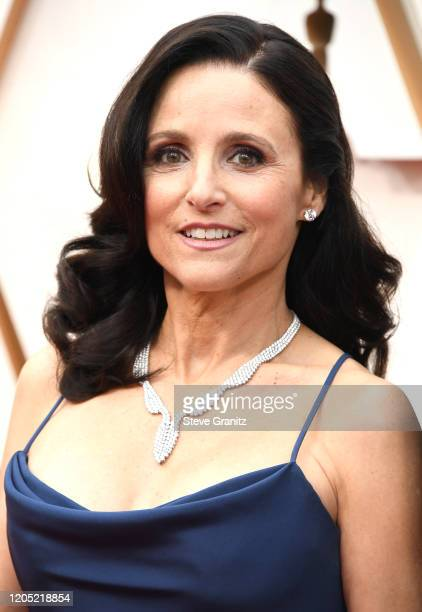 Julia Louis-Dreyfus arrives at the 92nd Annual Academy Awards at Hollywood and Highland on February 09, 2020 in Hollywood, California.