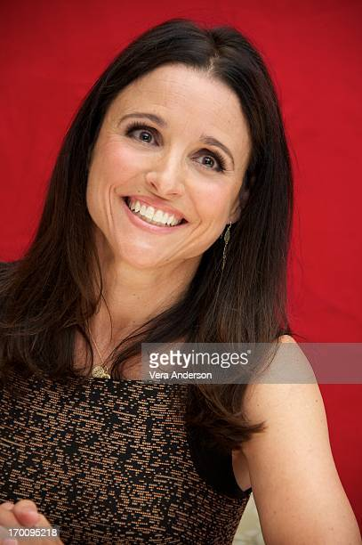 Julia LouisDreyfus at the 'Veep' Press Conference at the Four Seasons Hotel on June 5 2013 in Beverly Hills California