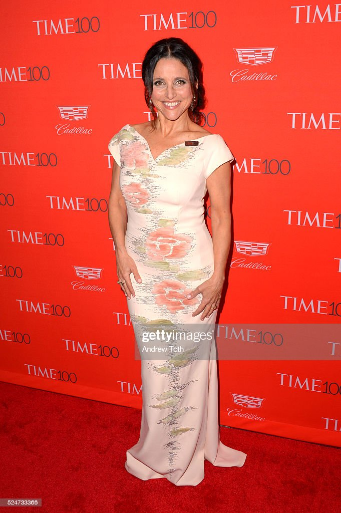 Julia Louis-Dreyfus attends the 2016 Time 100 Gala at Frederick P. Rose Hall, Jazz at Lincoln Center on April 26, 2016 in New York City.