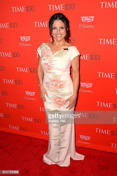 Julia LouisDreyfus attends the 2016 Time 100 Gala at Frederick P Rose Hall Jazz at Lincoln Center on April 26 2016 in New York City