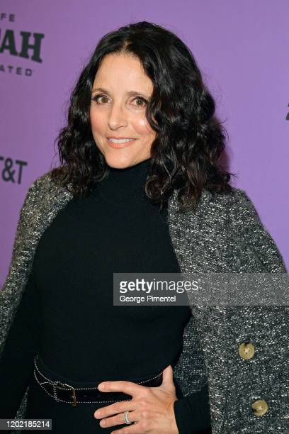 Julia LouisDreyfus attends the 2020 Sundance Film Festival Downhill Premiere at Eccles Center Theatre on January 26 2020 in Park City Utah