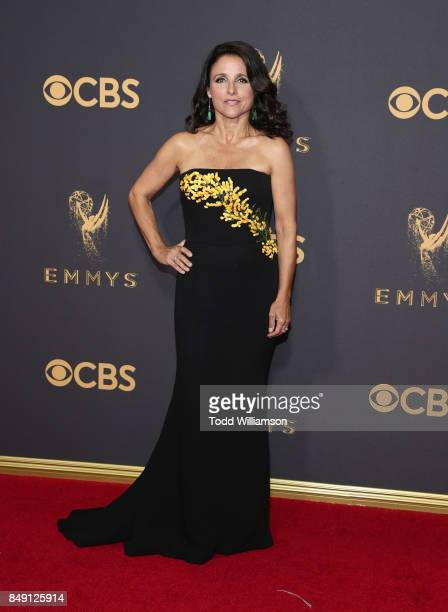 Julia LouisDreyfus attends the 69th Annual Primetime Emmy Awards at Microsoft Theater on September 17 2017 in Los Angeles California