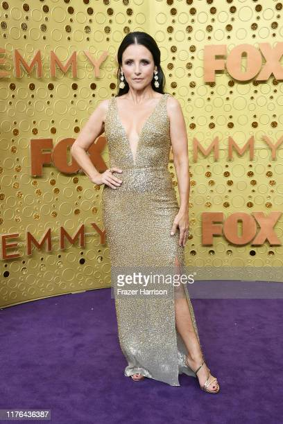Julia Louis-Dreyfus attends the 71st Emmy Awards at Microsoft Theater on September 22, 2019 in Los Angeles, California.