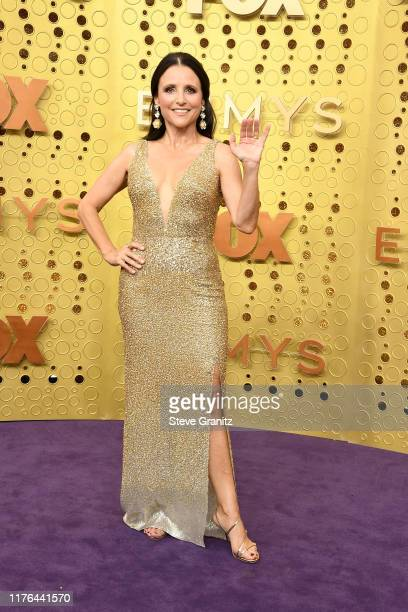 Julia LouisDreyfus attends the 71st Emmy Awards at Microsoft Theater on September 22 2019 in Los Angeles California