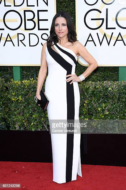 Julia LouisDreyfus attends the 74th Annual Golden Globe Awards at The Beverly Hilton Hotel on January 8 2017 in Beverly Hills California