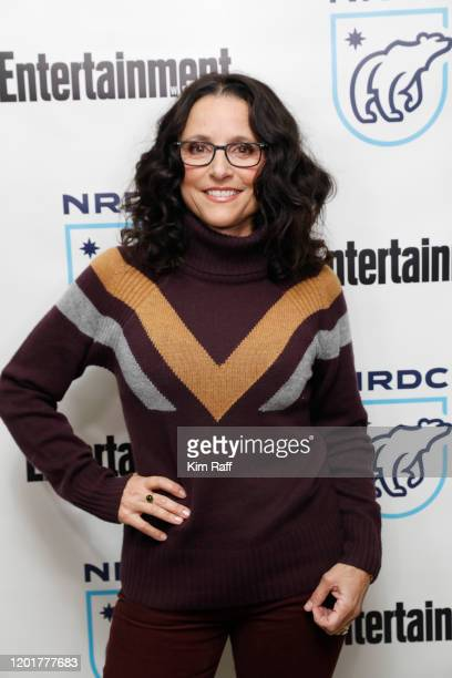Julia Louis-Dreyfus attends the EW x NRDC Sundance Film Festival Panel Series: Julia Louis-Dreyfus & Gina McCarthy Panel And Reception at Main Street...