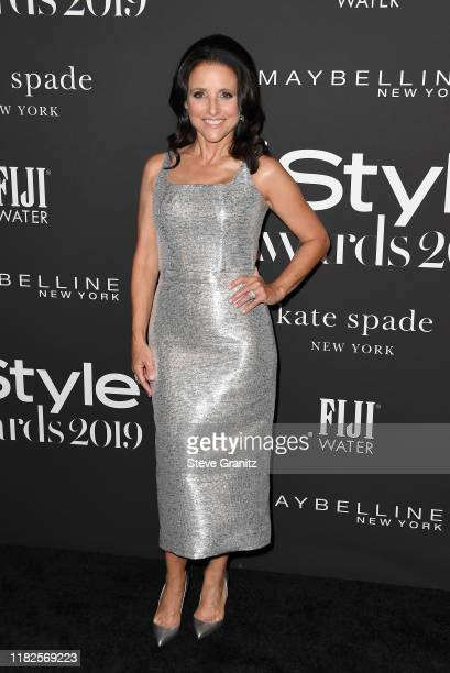 Julia Louis-Dreyfus attends the Fifth Annual InStyle Awards at The Getty Center on October 21, 2019 in Los Angeles, California.
