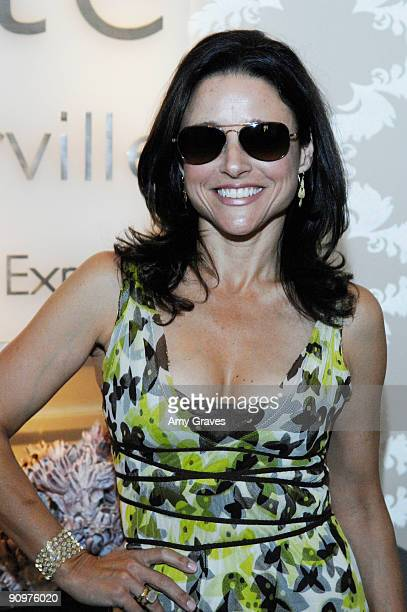 Julia LouisDreyfus attends the Kate Somerville Emmy Gifting Suite Event Day 3 at Kate Somerville on September 19 2009 in Los Angeles California