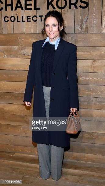 Julia LouisDreyfus attends the Michael Kors FW20 Runway Show during New York Fashion Week on February 12 2020 in New York City